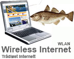wireless internett in all rooms
